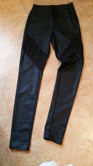 Lederhose/ Leggings mit Wildledereinsätzen von Fresh Made