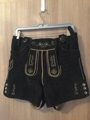 Vêtement traditionnel brun foncé-noir