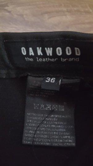 Oakwood Leren broek zwart