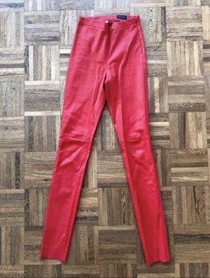 Oakwood Leren broek rood
