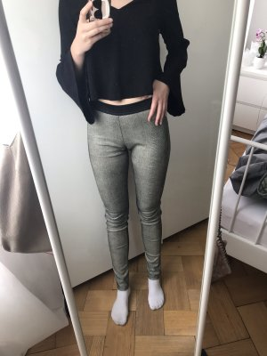 Drome Leather Trousers black-cream