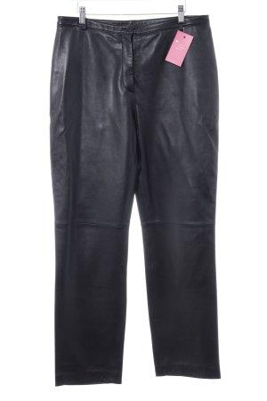 Pantalon en cuir noir Look de motard