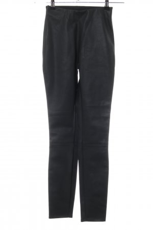 Leather Trousers black casual look
