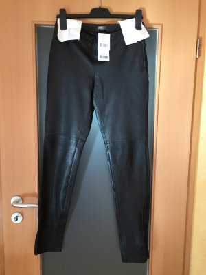 GDM Leather Trousers black leather