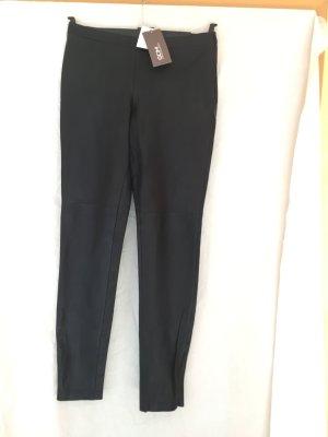 GDM Pantalon en cuir noir cuir