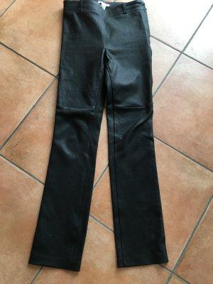 Lederhose schwarz Größe 34