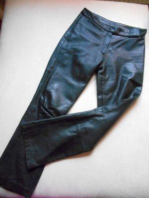 Lederhose schwarz Vintage