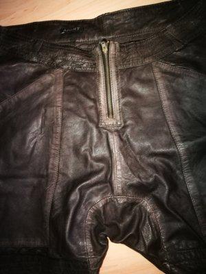 Heine Harem Pants bronze-colored leather