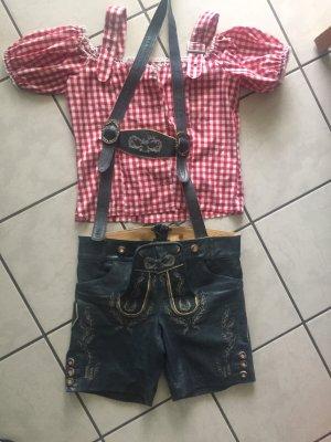 Lederhose Tracht und Bluse