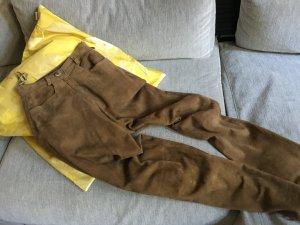 Lederhose Vintage Tracht sehr weiches Veloursleder