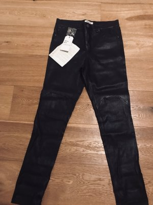 Edited Pantalone in pelle nero