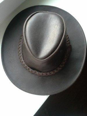 Sombrero marrón oscuro
