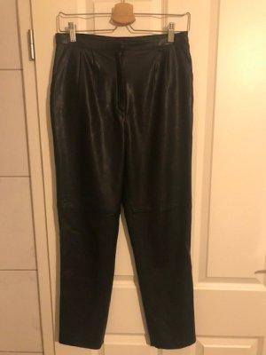 Lederimitat-Hose von ZARA Woman Größe S/M