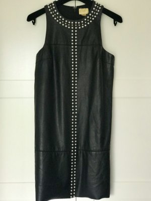 H&M Conscious Exclusive Leather Dress black imitation leather