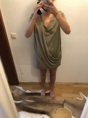Lederimitat Kleid