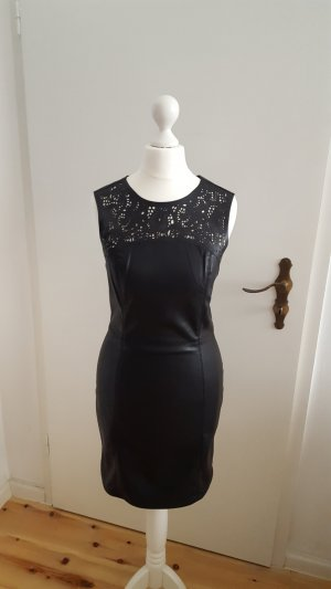 Lederimitat Kleid mit Originaletikett von Only