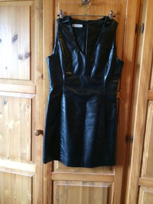More & More Dress black imitation leather