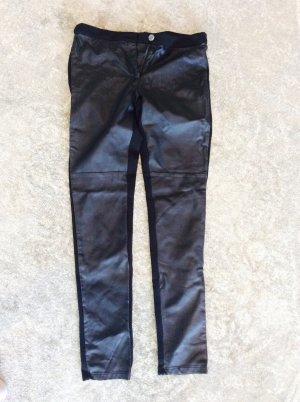 Lederimitat leggings Jeggings Hose Fake Leather 38 M