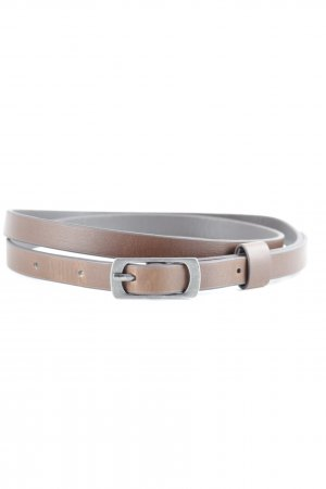 Faux Leather Belt brown classic style