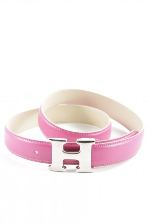 Faux Leather Belt violet casual look