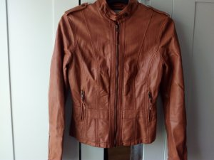 Orsay Leather Jacket bronze-colored