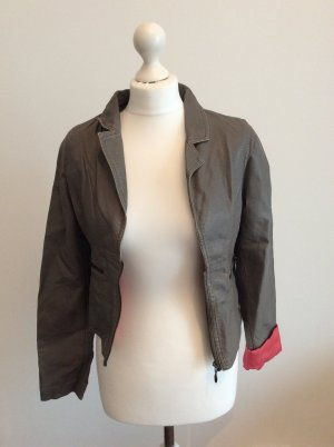 Review Faux Leather Jacket multicolored