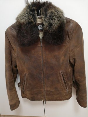 Leather Jacket brown