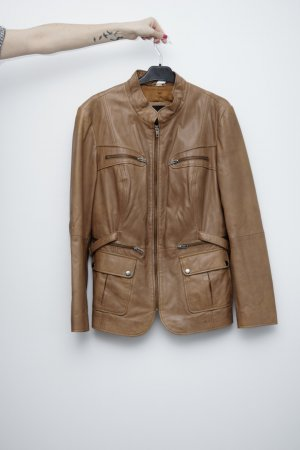 Best Connections Fashion cognac-coloured-brown leather