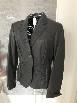 Gerry Weber Leather Blazer dark grey