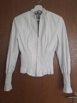 Leather Jacket white leather
