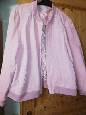 Amy Vermont Giacca in pelle rosa chiaro