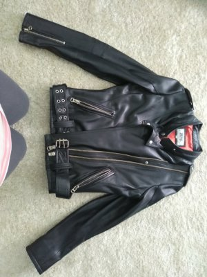 Windsor Leren jurk zwart