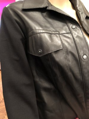 Absolu Paris Leather Jacket black