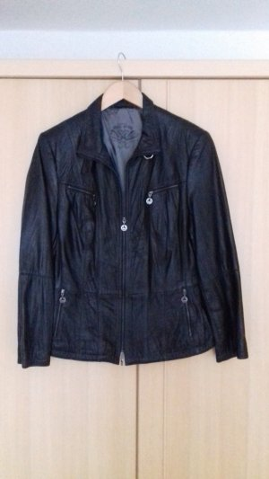 Gerry Weber Leather Jacket black