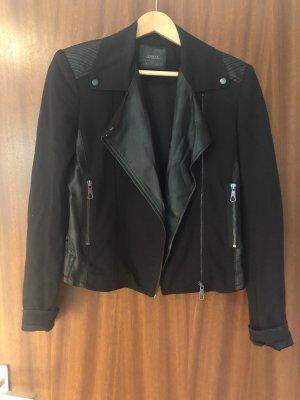 Guess Veste en cuir noir