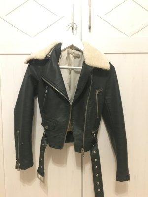 Lederjacke aus Zara