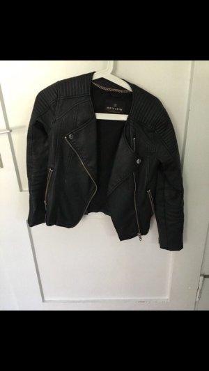 Review Veste motard noir