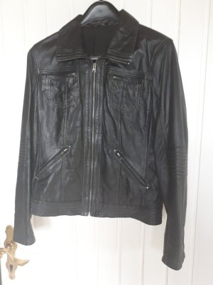 Chevirex Leather Jacket black