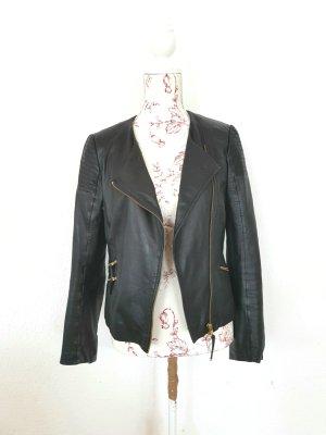 Lederjacke bikerjacke leatherjacket