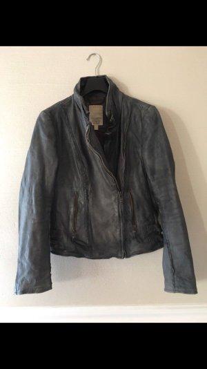 Esprit Leather Jacket grey