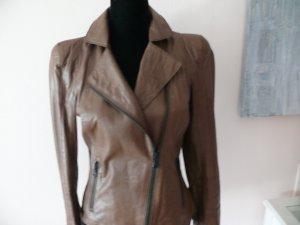 Blacky Dress Chaqueta de cuero marrón-coñac Cuero