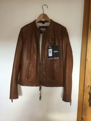 Blauer Leather Jacket multicolored leather