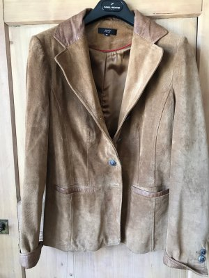 Aust Leather Jacket light brown leather