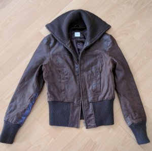 New Look Leather Jacket brown leather