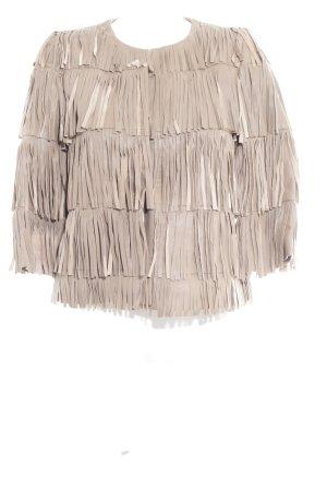 Leather Jacket camel hippie style