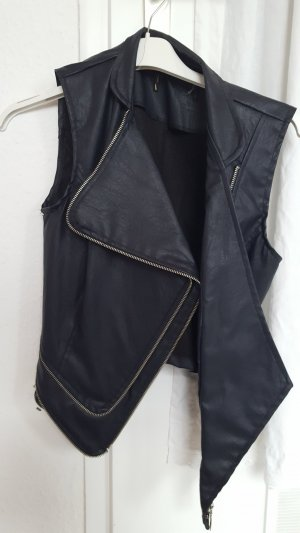 C / Meo Collective Leather Jacket black