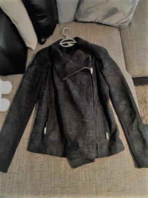 Biker Jacket black leather