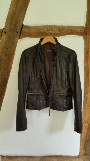 Conleys Leather Jacket dark brown leather