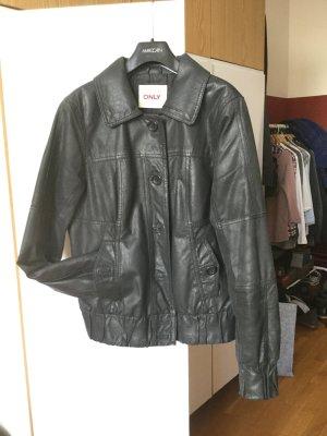 Lederjacke - echtes Leder - Größe L