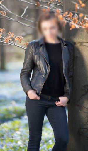 Zara Veste en cuir multicolore cuir